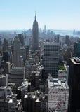 Ορίζοντας 2 πόλεων της Νέας Υόρκης Στοκ εικόνα με δικαίωμα ελεύθερης χρήσης