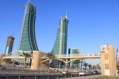 Ορίζοντας πόλεων του Μπαχρέιν Στοκ φωτογραφία με δικαίωμα ελεύθερης χρήσης