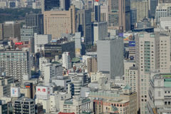 Ορίζοντας πόλεων του Τόκιο στοκ εικόνες