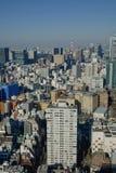 Ορίζοντας πόλεων του Τόκιο Στοκ Φωτογραφίες
