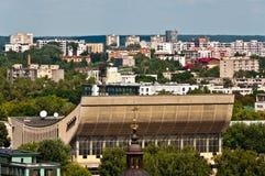 Ορίζοντας πόλεων Vilnius Στοκ εικόνες με δικαίωμα ελεύθερης χρήσης