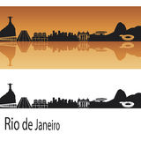 Ορίζοντας Ρίο ντε Τζανέιρο απεικόνιση αποθεμάτων