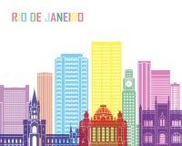 Ορίζοντας Ρίο ντε Τζανέιρο V2 λαϊκός ελεύθερη απεικόνιση δικαιώματος