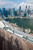 ορίζοντας Σινγκαπούρης στοκ φωτογραφίες