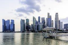 ορίζοντας Σινγκαπούρης Στοκ Εικόνες