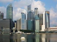 ορίζοντας Σινγκαπούρης Στοκ Εικόνα