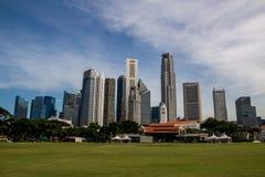 ορίζοντας Σινγκαπούρης Στοκ εικόνες με δικαίωμα ελεύθερης χρήσης
