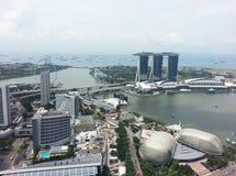 ορίζοντας Σινγκαπούρης &eps Στοκ Εικόνες