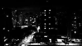 Ορίζοντας στη νύχτα Στοκ εικόνα με δικαίωμα ελεύθερης χρήσης