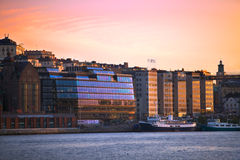 ορίζοντας Στοκχόλμη Στοκ Φωτογραφία