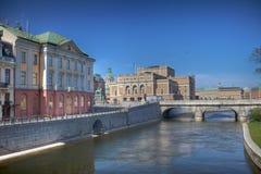 ορίζοντας Στοκχόλμη Στοκ φωτογραφίες με δικαίωμα ελεύθερης χρήσης