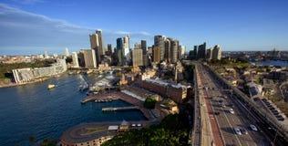 ορίζοντας Σύδνεϋ πόλεων τη& Στοκ εικόνα με δικαίωμα ελεύθερης χρήσης