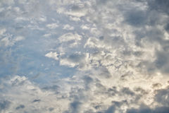 ορίζοντας σύννεφων Στοκ εικόνες με δικαίωμα ελεύθερης χρήσης