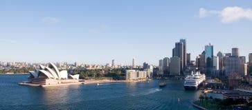 ορίζοντας Σύδνεϋ πόλεων Στοκ εικόνα με δικαίωμα ελεύθερης χρήσης