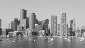 Ορίζοντας της Βοστώνης Στοκ εικόνα με δικαίωμα ελεύθερης χρήσης