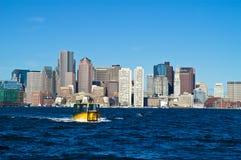 ορίζοντας της Βοστώνης Στοκ Φωτογραφίες