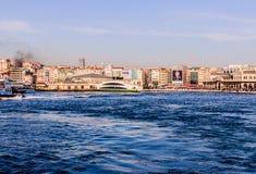 Ορίζοντας της Ιστανμπούλ - της Τουρκίας στοκ εικόνα με δικαίωμα ελεύθερης χρήσης