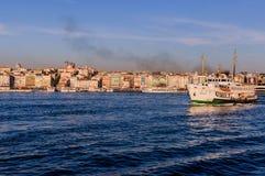 Ορίζοντας της Ιστανμπούλ - της Τουρκίας στοκ φωτογραφίες με δικαίωμα ελεύθερης χρήσης