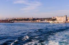 Ορίζοντας της Ιστανμπούλ - της Τουρκίας στοκ εικόνες