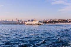 Ορίζοντας της Ιστανμπούλ - της Τουρκίας στοκ φωτογραφία