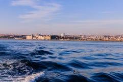 Ορίζοντας της Ιστανμπούλ - της Τουρκίας στοκ φωτογραφία με δικαίωμα ελεύθερης χρήσης