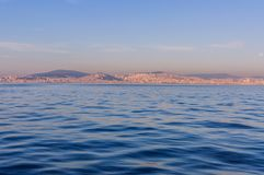 Ορίζοντας της Ιστανμπούλ - της Τουρκίας στοκ φωτογραφίες
