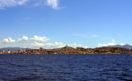 Ορίζοντας της Μασσαλίας, Γαλλία Στοκ Εικόνες