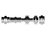 Ορίζοντας της Μαδρίτης που διευκρινίζεται Στοκ εικόνα με δικαίωμα ελεύθερης χρήσης