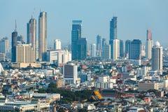 Ορίζοντας της Μπανγκόκ - Ταϊλάνδη στοκ εικόνες