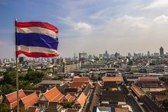 Ορίζοντας της Μπανγκόκ, Ταϊλάνδη Στοκ Εικόνες