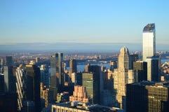 Ορίζοντας της Νέας Υόρκης από το Central Park Στοκ Εικόνες