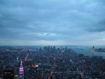 Ορίζοντας της Νέας Υόρκης το 2004 στοκ φωτογραφία με δικαίωμα ελεύθερης χρήσης