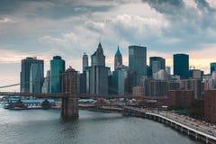 Ορίζοντας της Νέας Υόρκης στοκ εικόνα με δικαίωμα ελεύθερης χρήσης