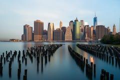 Ορίζοντας της Νέας Υόρκης στοκ εικόνα