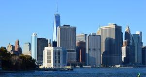 Ορίζοντας της Νέας Υόρκης Στοκ Φωτογραφία