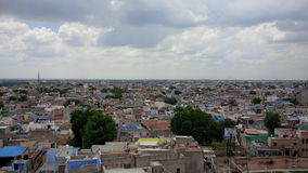 Ορίζοντας της πόλης Rajastan του Jodhpur Στοκ φωτογραφίες με δικαίωμα ελεύθερης χρήσης