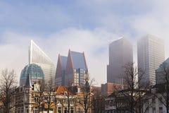 Ορίζοντας της Χάγης με τα κτήρια Στοκ Φωτογραφίες