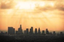 ορίζοντας της Angeles Los Στοκ φωτογραφίες με δικαίωμα ελεύθερης χρήσης