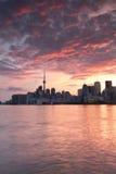 Ορίζοντας Τορόντο Στοκ φωτογραφίες με δικαίωμα ελεύθερης χρήσης