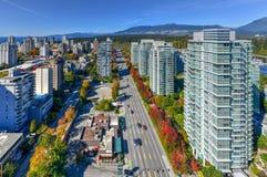 Ορίζοντας του Βανκούβερ, Καναδάς στοκ εικόνες με δικαίωμα ελεύθερης χρήσης