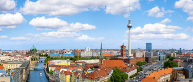 Ορίζοντας του Βερολίνου στοκ φωτογραφίες με δικαίωμα ελεύθερης χρήσης