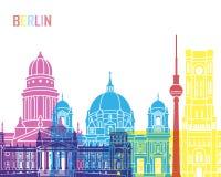 Ορίζοντας του Βερολίνου V2 λαϊκός Στοκ εικόνες με δικαίωμα ελεύθερης χρήσης
