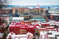 Ορίζοντας του Γκέτεμπουργκ το χειμώνα Στοκ φωτογραφίες με δικαίωμα ελεύθερης χρήσης