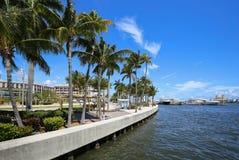 Ορίζοντας του δυτικού Palm Beach στοκ εικόνα