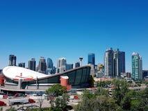 Ορίζοντας του Κάλγκαρι Αλμπέρτα Καναδάς Στοκ Φωτογραφία