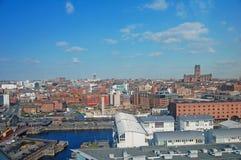 ορίζοντας του Λίβερπουλ Στοκ φωτογραφία με δικαίωμα ελεύθερης χρήσης