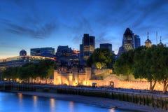 Ορίζοντας του Λονδίνου Στοκ Εικόνες