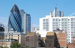 Ορίζοντας του Λονδίνου στοκ εικόνα