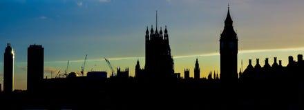 ορίζοντας του Λονδίνου απεικόνισης σχεδίου εσείς Στοκ Εικόνα