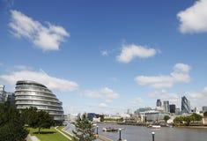 ορίζοντας του Λονδίνου απεικόνισης σχεδίου εσείς στοκ φωτογραφίες